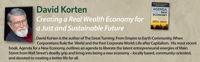 a look into the future in when corporation rule the world by david korten In when corporations rule the world, david korten examined the of warring states into a peaceful and by korten (when corporations rule the world).