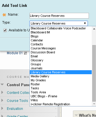 Library Course Reserves Tool Link.png