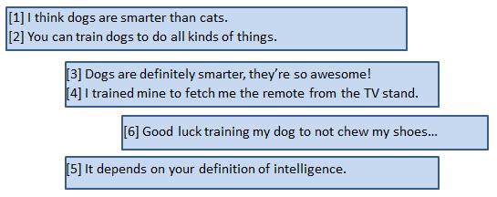 linking sentences