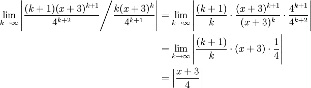 Power Series Convergence Example | The Infinite Series Module