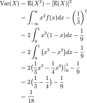 28 expected value variance standard deviation math 105 simple example revisited we can use this alternate formula for variance to find the standard deviation ccuart Image collections