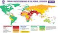 Ilga sexual orientation laws in the world overview.jpg