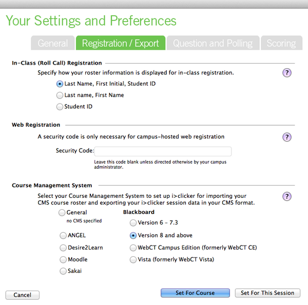 IClicker Connect Settings and Preferences.png