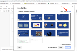 help adding media presentation slides ubc wiki