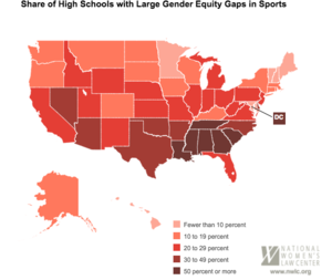 Wow Wow high school sports sex discrimination