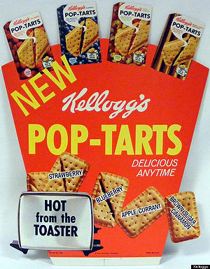 an older version of the pop tarts box