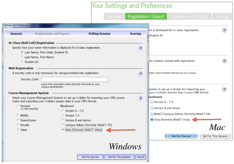 Settings and Preferences