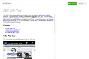 Documentation Embed Wiki To Canvas Via Iframe Ubc Wiki