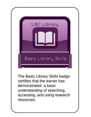 Basic Library Skills Tutorial Badge meta level.png